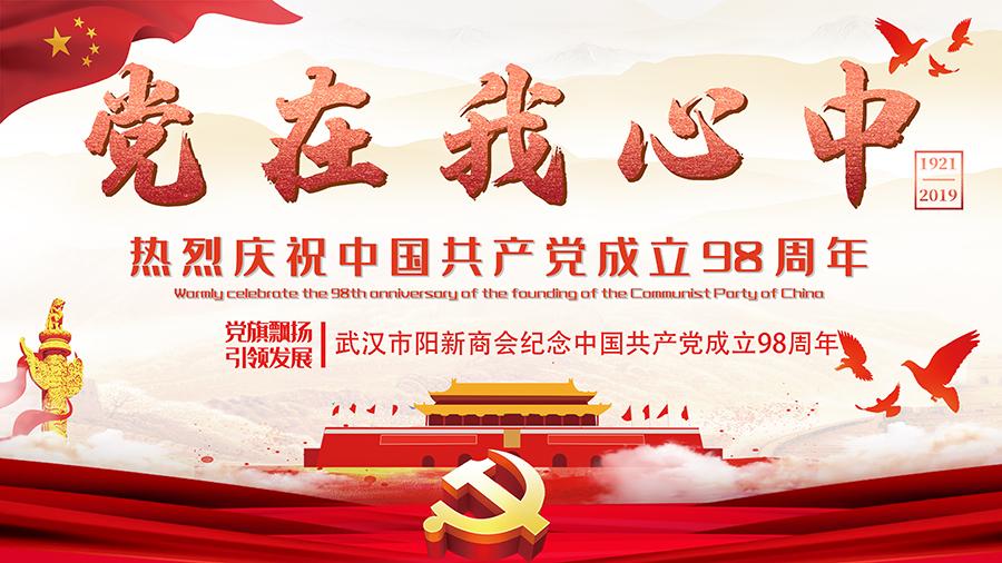 热烈庆祝武汉市阳新商会党会活动在我公司圆满举办